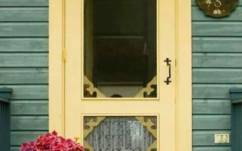 It's all about the Screen Door!